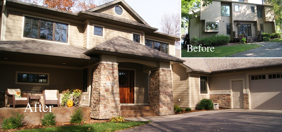 Ranch Style House Exterior Makeover Quotes: home redesign