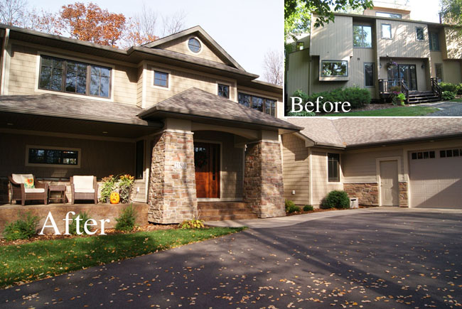 Rose creek builders minnesota home builders new construction home remodel exterior Home redesign