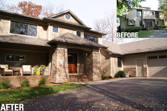 Home remodeling pictures exterior home decor ideas - Home exteriors before and after ...